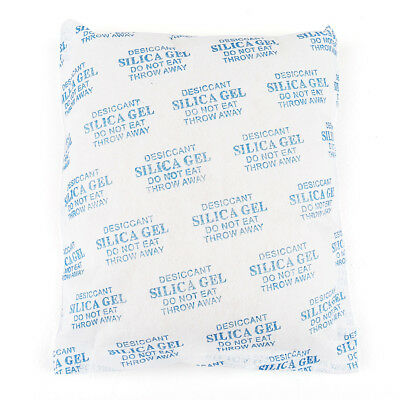 500 Gram Silica Gel Packets Desiccant Non-Toxic Absorb Moisture