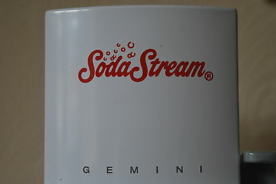 Vintage Design Soda Steam Gemini - New with One Bottle - No Gas - New Never Used