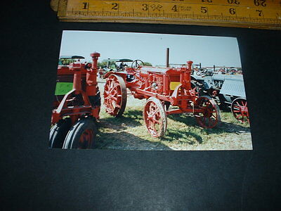 Old  Photo Vintage Tractor Combined Postage  (R20