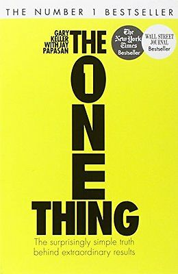 The One Thing The Surprisingly Simple Truth Be by Gary Keller Paperback Book New