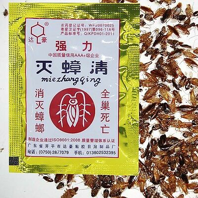 Powerful Effective Cockroach Killing Bait Powder Home Pest Killer Insecticide