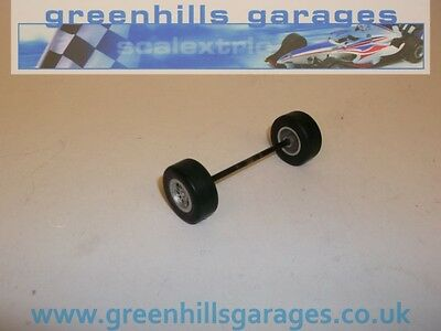 Greenhills Scalextric Dallara IRL Front Axle with Tyres – Used – P1178 ##X