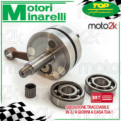 Albero Motore Top Racing Minarelli Malaguti Fifty Evolution 50 2T 1990 - 1993