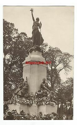Devon Exeter War Memorial Northernhay Real Photo Vintage Postcard 12.6