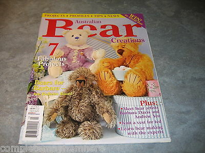 Australian Bear Creations Vol 11 No. 3 Knit a vest for teddy, projects, making