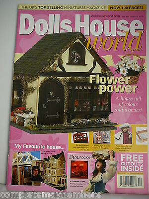 Dolls House World February 2002 Issue 113 - Flower Power