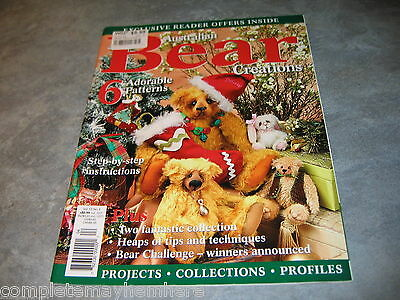 "Australian Bear Creations Volume 13 Number 4  ""postage specials"""