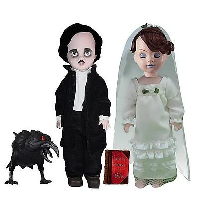 Living Dead Dolls Edgar Allen Poe and Annabel Lee