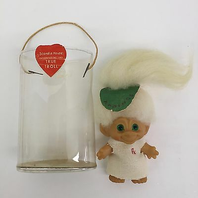 1965 Scandia House True Troll RX Madings Green Spiral Eyes Estate Sale Find