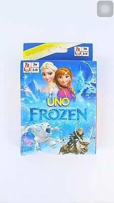 frozen UNO CARDS Family Fun Playing Card Educational Toy Theme Board Game