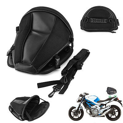 1Pc New Back Seat Rear Storage Bag Motorcycle Motorbike Package Saddle Tail Bag