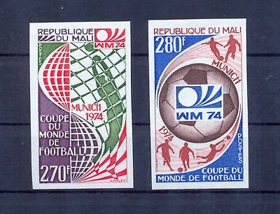 Mali 1974 World Cup Soccer Championships, Munich imperforate. MNH VF