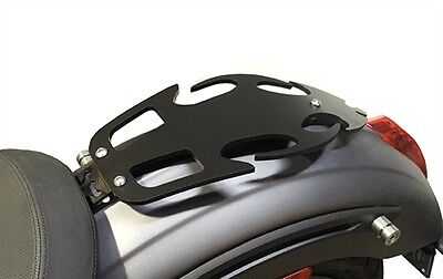 Black Tribal Solo Luggage Rack for Victory Octane 2016 2017