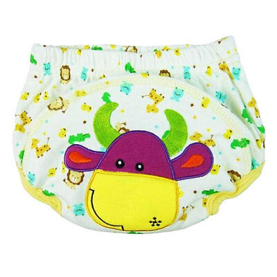 Baby Boy Girl Training Pants Moo Moo Cow Toilet Potty Training  Underwear 24lbs