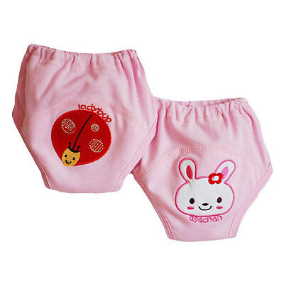2 pack Girl Training Pants Kentcow Pink Toilet Potty Training Underwear 31lbs