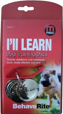 Mikki Dog Training Discs For Dog Obedience And Agility