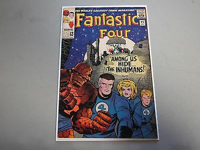 Fantastic Four #45 Comic Book  1st App. Inhuman  KEY  F/VF