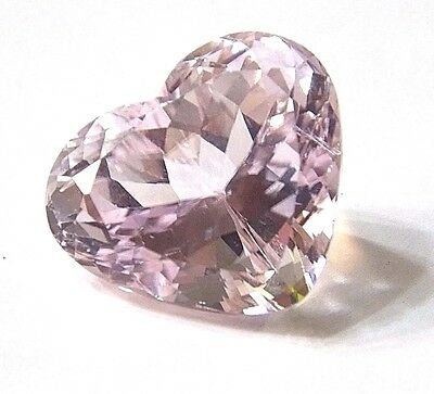 54.20 Ct Awesome Top Luster Heart Shape Natural Pink Kunzite