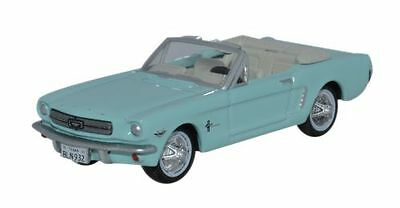 Bnib Ho Gauge Oxford Diecast 1:87 87Mu65002 1965 Ford Mustang Convertible Turquo