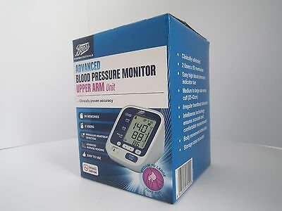 Boots Advanced Blood Pressure Monitor Upper Arm Unit Brand New Sealed Boxed