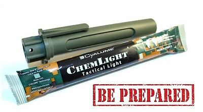 1 X Cyalume Combat Light Shield Light Sticks Holder.  Be Prepared