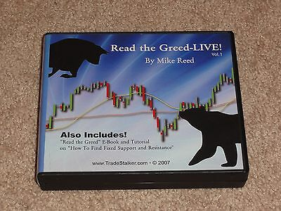 Mike Reed - Read the Greed Live tradestalker options trading tradestation eminis