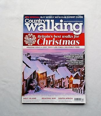 Country Walking Magazine 2014 December Britains Best Walks for Christmas 14 days