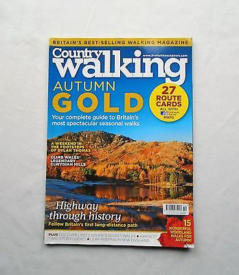 Country Walking Magazine 2014 October Autumn Gold – Clwydian Hills – Highway