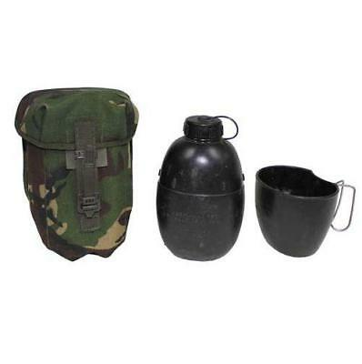 Original British army surplus 58 pattern water bottle, pouch and bag