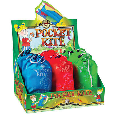 Assorted Coloured Small Pocket Sized Kite By House Of Marbles (1 Supplied)