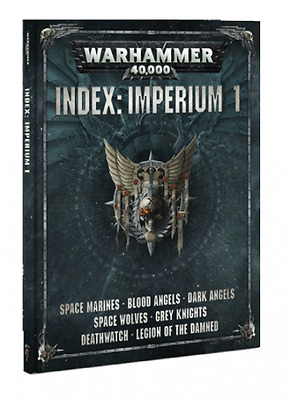 Warhammer 40.000: Index: Imperium 1 Softcover (Deutsch) 40k Neue Edition