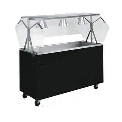 """Vollrath 3877860 60"""" Affordable Portable Storage Base Cold Food Station (Cherry)"""