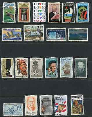 US 1984 Complete Commemorative Year Set - MNH 44 Stamps Scott 2066//2109 USA