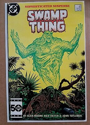 Swamp Thing #37 (DC) 1st app John Constantine, High Grade, Justice League Dark