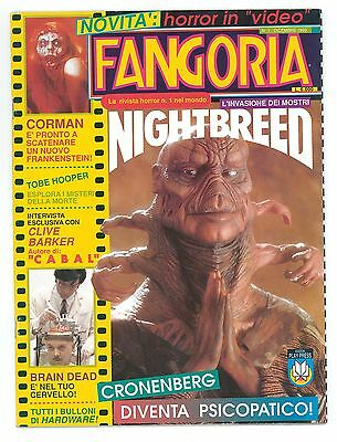 Rara rivista cinema film Horror Fangoria n.1