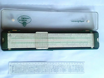 Rechenschieber Faber Castell No. 2/83 novo-duplex Precision Slide Rule With Box