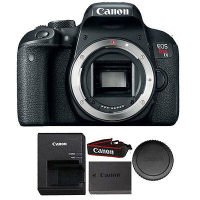 Canon EOS Rebel T7i / 800D 24.2MP DSLR Camera (Body Only) 1894C001