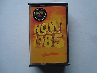NOW THATS WHAT I CALL MUSIC 1985 SPECIAL 10th ANNIVERSARY EDITION CASSETTE