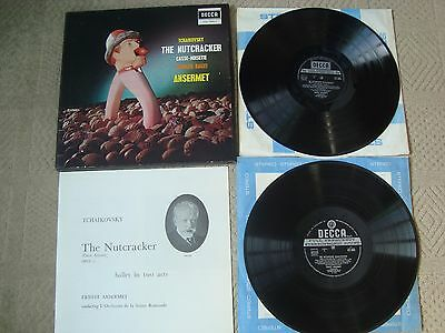 Tchaikovsky The Nutcracker Casse-Noisette Complete Ballet Sxl 2092/3 2 Lp Box