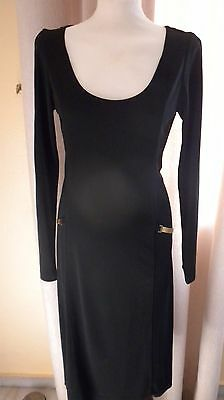 Dkny L/s Black Dress Size M