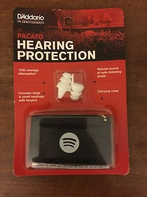PACATO Hearing Protection 2017 SXSW Special Spotify Edition Extremely RARE