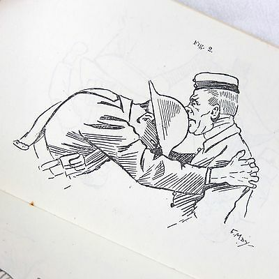 Ww1 1917 Unarmed Combat Manual Attack And Defence British Army Bayonet Training