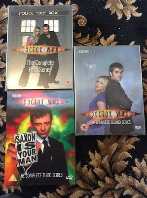 Doctor Who The Complete Series 1, 2 And 3 Box Sets