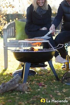 2nd PIZZA FIREPIT FIREBOWL PIT BBQ GRILL PATIO HEATER PIZZA STONE