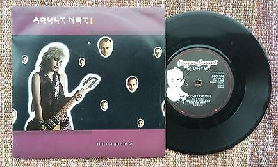 "Adult Net White nights (Stars say go) 7"" The Fall"