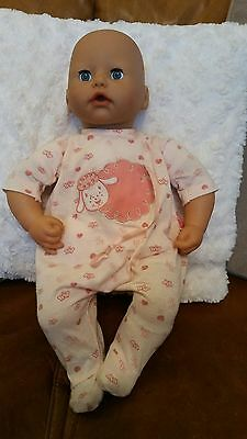 Zapf Creation Interactive Baby Annabell Doll 2005