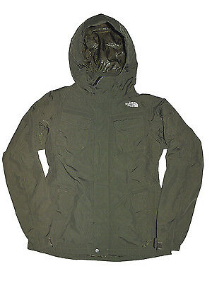 THE NORTH FACE giacca giubbotto jacket donna women's verde militare tg.M