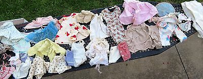 Lot of Vintage doll clothes 1950s-60s  and accessories shoes