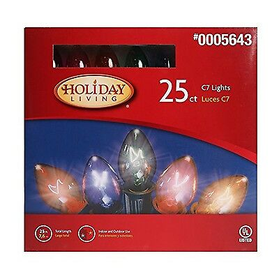 25 C7 Multi Color Light Set Indoor/Outdoor
