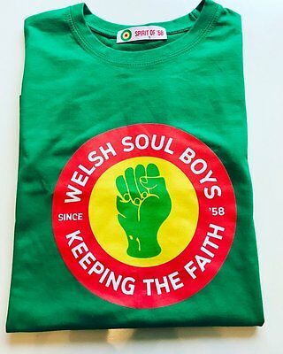 Wales football Spirit of 58 Welsh Soul Boys Keeping the Faith Medium Green
